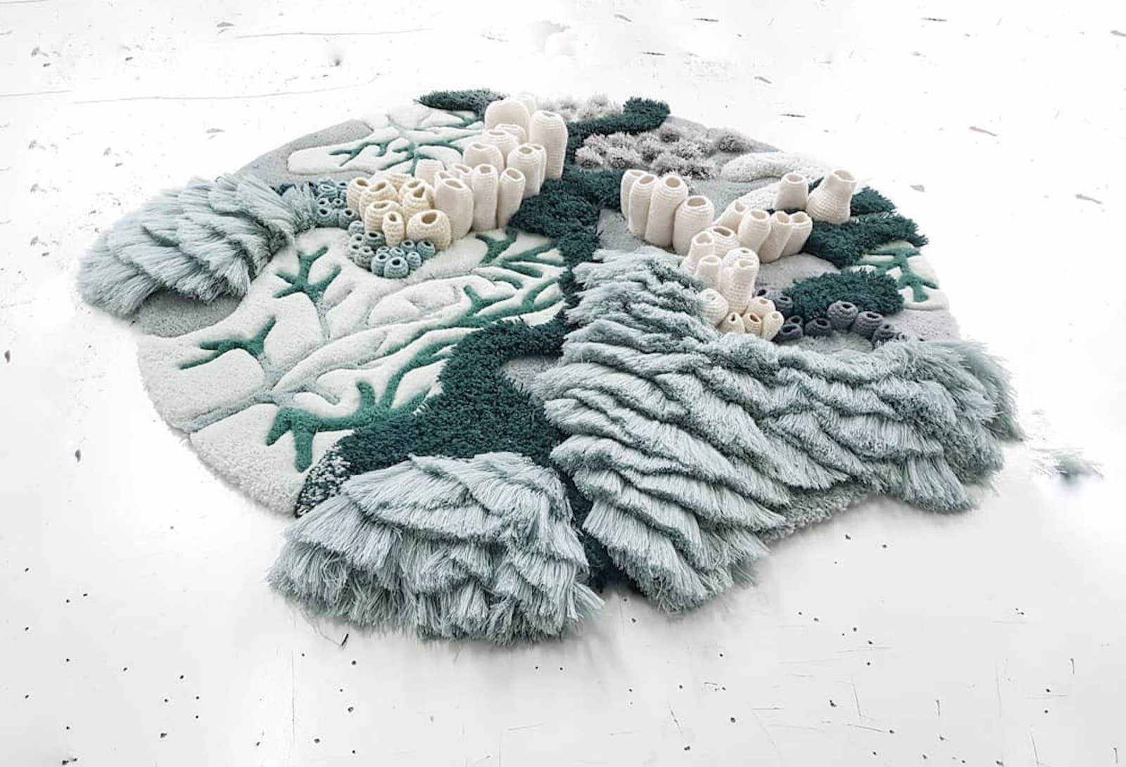 Vanessa Barragos Tapestries Depict Diverse Underwater