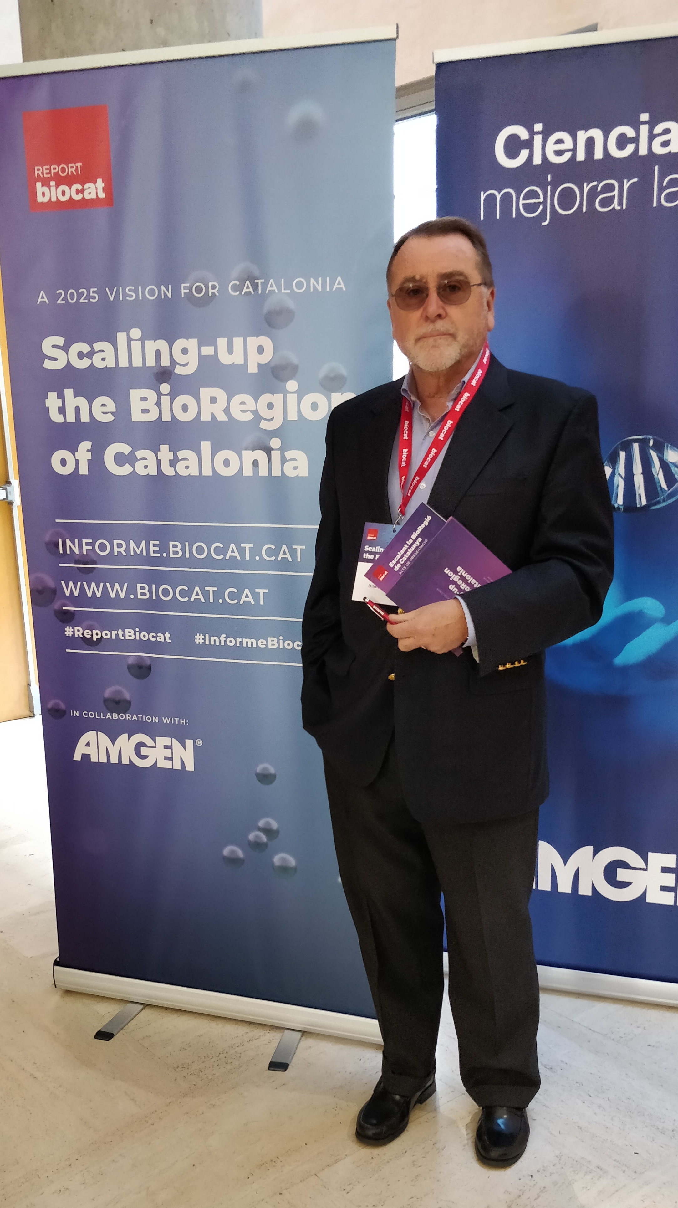 Ignasi Maestre asistió a la presentación del informe de biocat