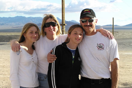 Cathy Powers and Family