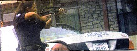 Cop in Standoff