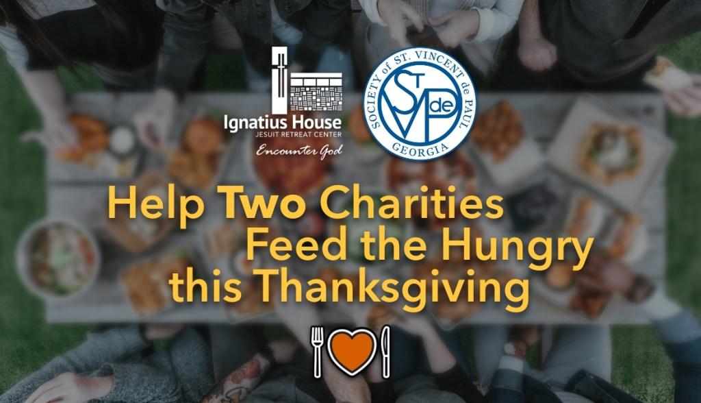 Ignatius House St. Vincent de Paul Thanksgiving meals