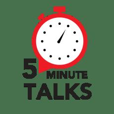5 Minute Talks Club Logo