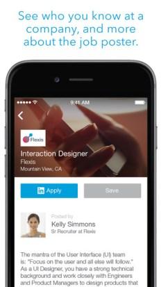 linkedin Job App