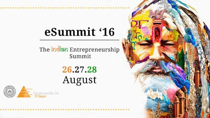 E-Summit'16 IIT Kanpur Banner