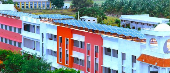 Engineering Colleges In India Generating Power From Solar