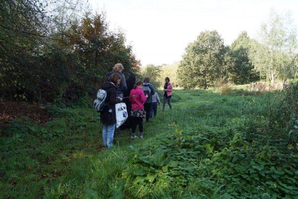 Wildplukken wandeltocht Groningen Stadspark