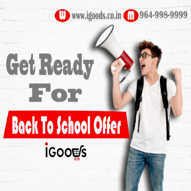 Get Ready For Back To School Offer