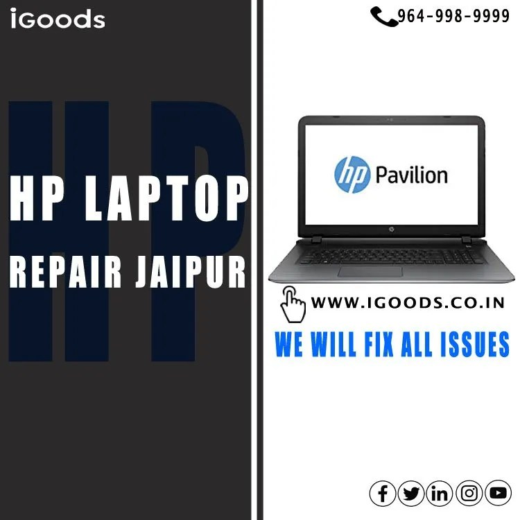 hp laptop repair jaipur