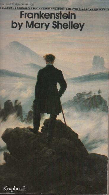 Livre anglais  Frankenstein Mary Shelley  iGopherfr