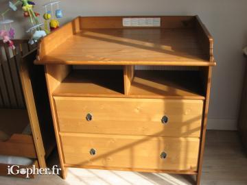Table à Langer Commode Ikea Leksvik
