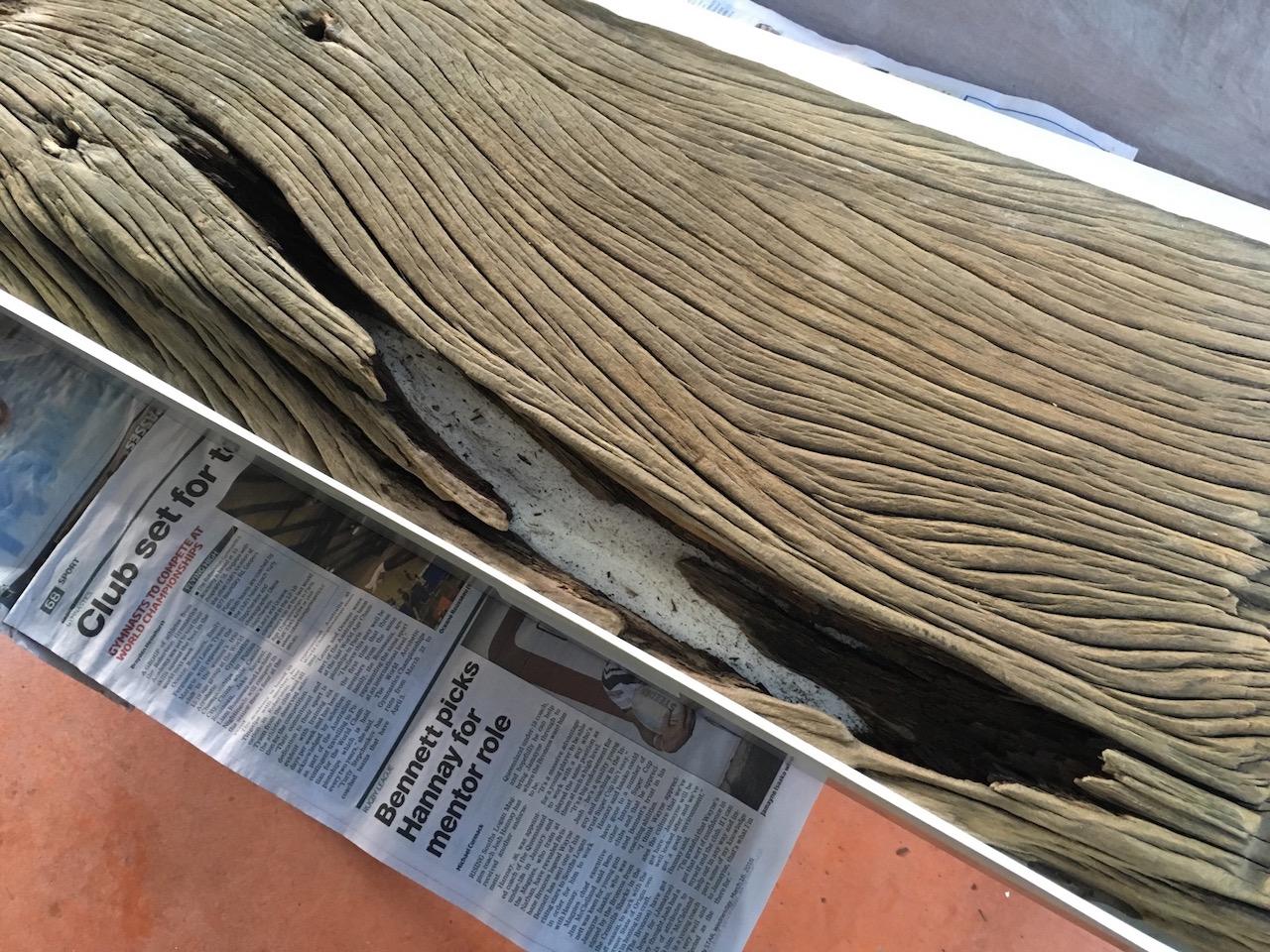 Clear Wood Filler Resin
