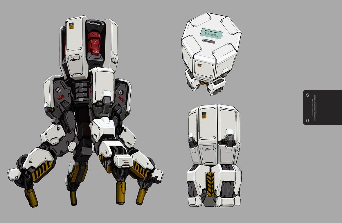 Concept Robots Robot Art By Rd7