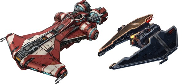 Star Wars Republic Ship Concept Art