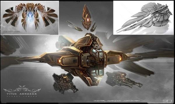 Jupiter Ascending Spaceship Concept Art
