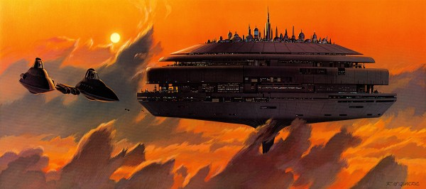 Concept Ships Star Wars Saturday Ralph Mcquarrie