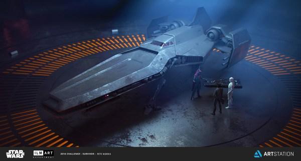 Star Wars Ships Concept Art