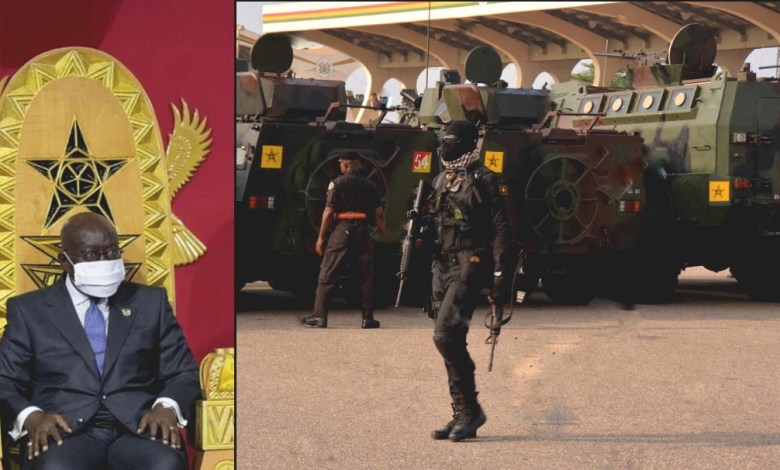Govt Deploys Armed Police With Armored Truck To Prevent