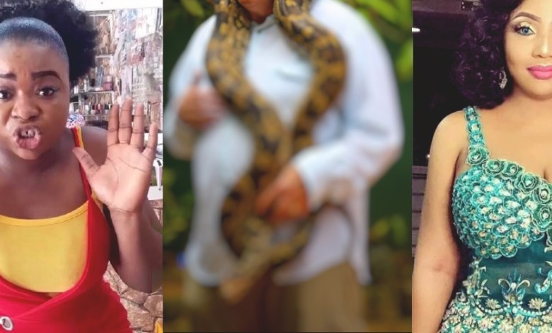 Rich Indian sugar daddy replaced Diamonds womb with a Python
