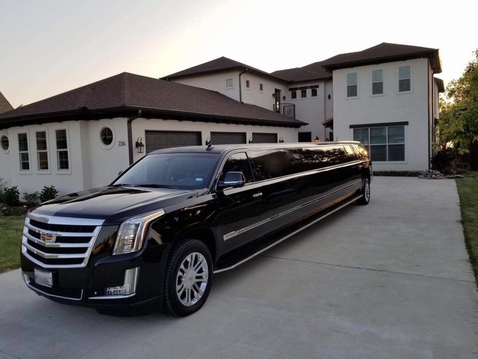 Cadillac Escalade Limo Dallas Plano Frisco Fort Worth
