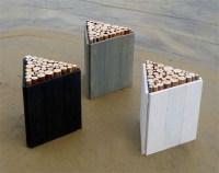 Modern Stools by WoodInsane Design   Green Design Blog
