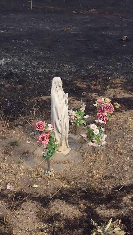 Imagen de Lourdes 2 intacta en base militar El Goloso, Madrid