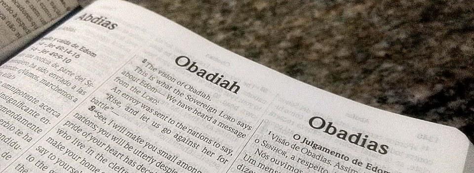 Introdução do Livro de Obadias