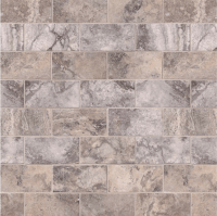 Silver Travertine Subway Tile Honed 3x6 | MSI Stone Tile ...
