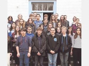 Austausch: 30 Schüler aus Südfrankreich befanden sich im Zuge eines Schüleraustauschs zehn Tage in Kaufungen. Foto: privat/nh.