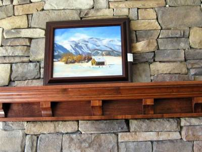 Victorian Mantel Shelf Iguana Art & Design