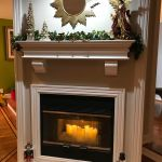 Custom Fireplace Mantel white