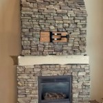 Fireplace Makeover Wrap Around Mantel