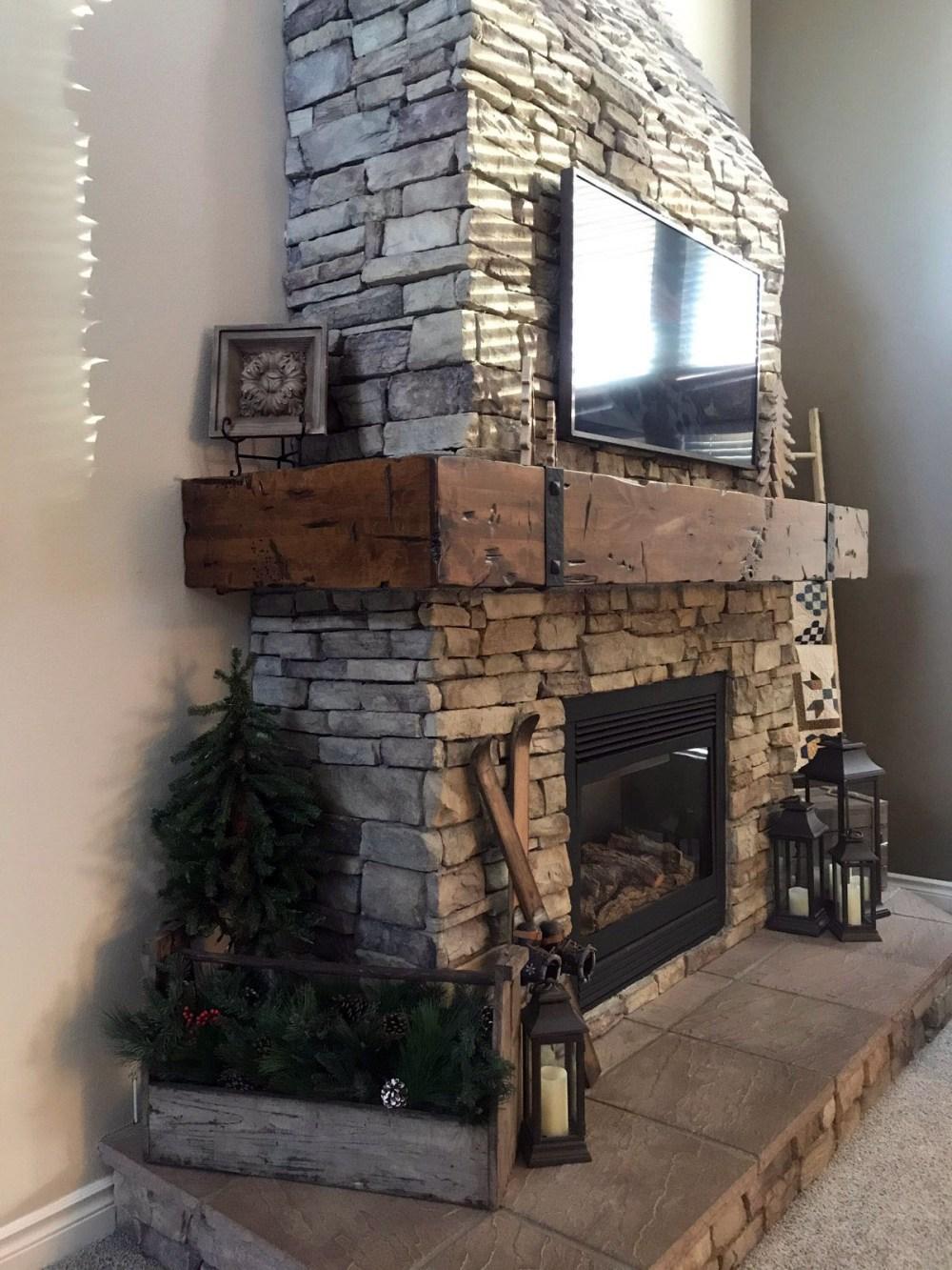 Fireplace Mantel Wrap Around Custom Made
