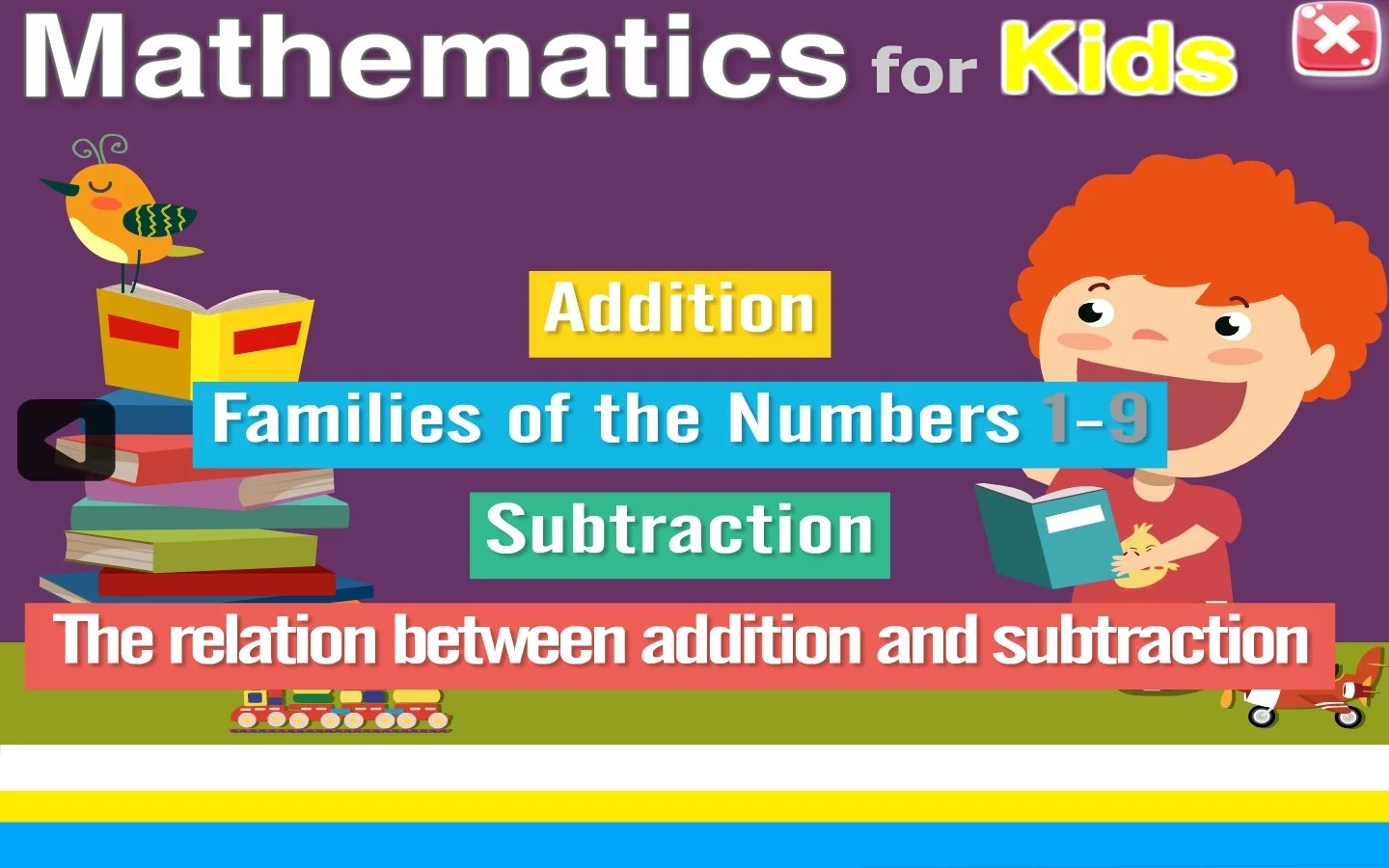 Mathematics for kids level 1