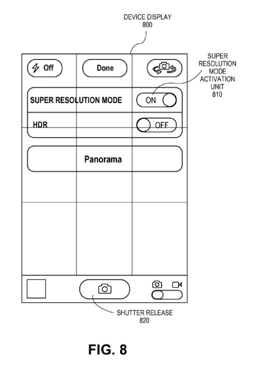 Super-Resolution-patent-apple