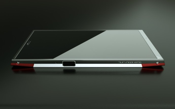 The Turing Phone lacks a headphone jack and USB port. Source: Turing Robotics Industries.