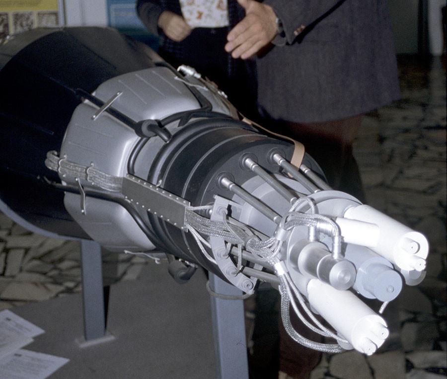 topaz space reactor