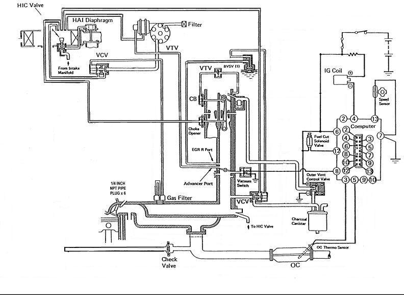 1983 Toyota smog pump