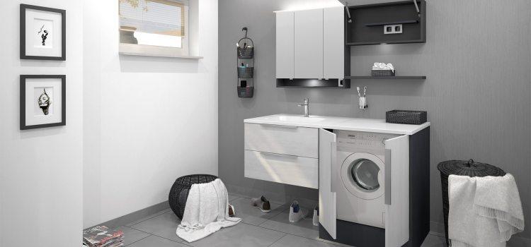 CREA.wash – Flexible Waschtischlösungen mit Waschmaschinenumbau
