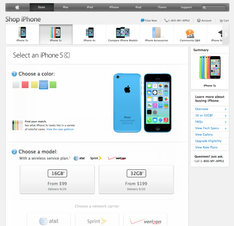 iphone pre order iphone 5c pre orders are now live ihash 3264