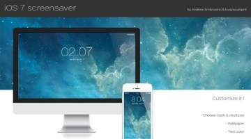 How to get iOS 7 Lock Screen Look in Mac OS X 10.9 Mavericks
