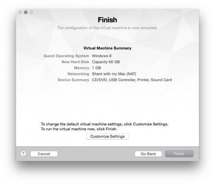VMware Fusion add new virtual maschine windows 10