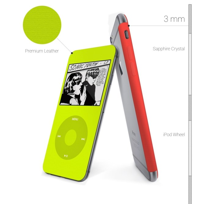 iPod Cover Concept for iphone 6 4