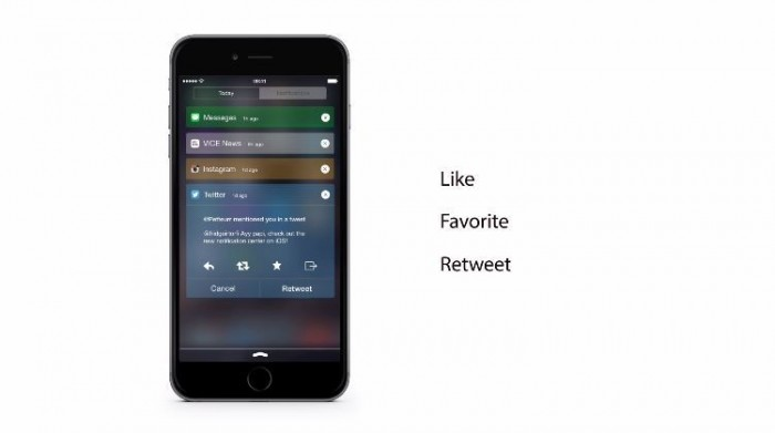 Concept Redesigns iOS 8's Notification Center