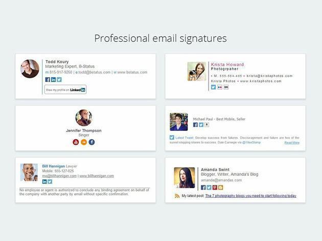 WiseStamp Email Signature 1