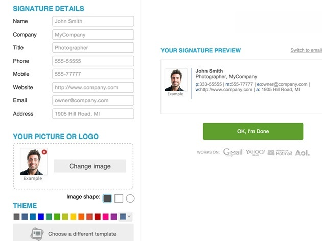 WiseStamp Email Signature 3