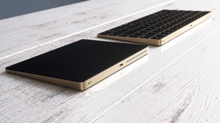 New Magic Keyboard and Magic Trackpad 2 Renders in Gold
