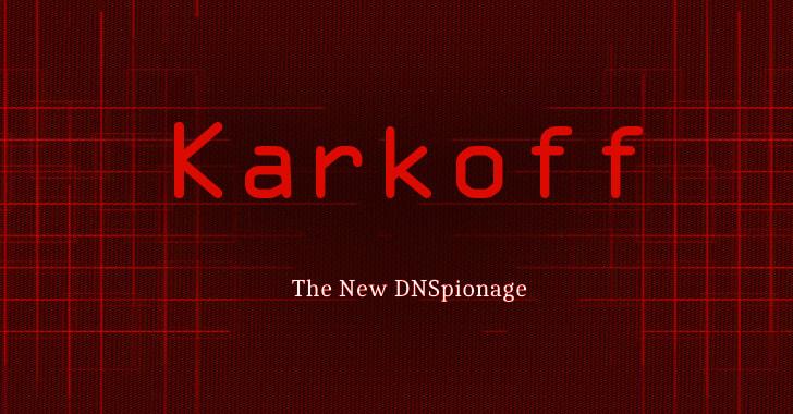 Karkoff DNSpionage malware