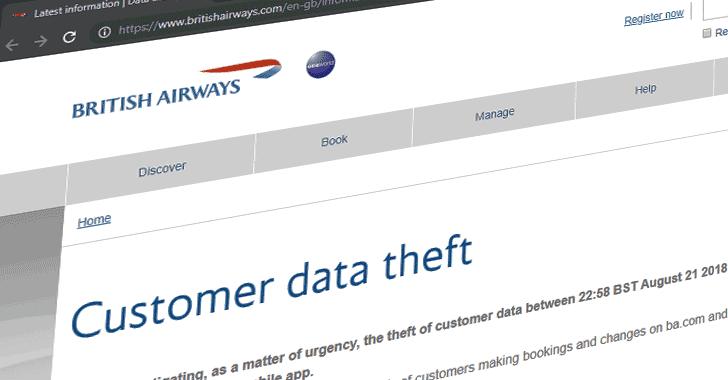 british airways gdpr fine data breach