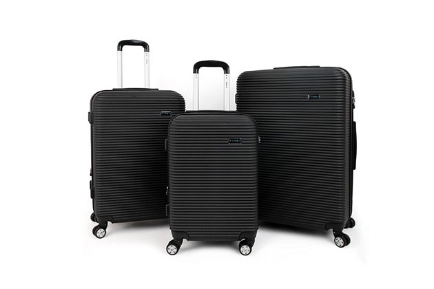 Tanka Engine Hard-Side 3-Piece Spinner Luggage for $224