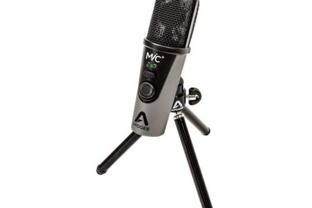 Apogee MiC PLUS for iPad, iPhone, Mac and Windows USB Cardioid Microphone for $389